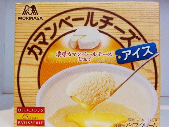 カマンベールチーズアイス 森永アイスクリーム