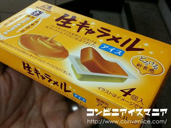 生キャラメルアイス 森永製菓
