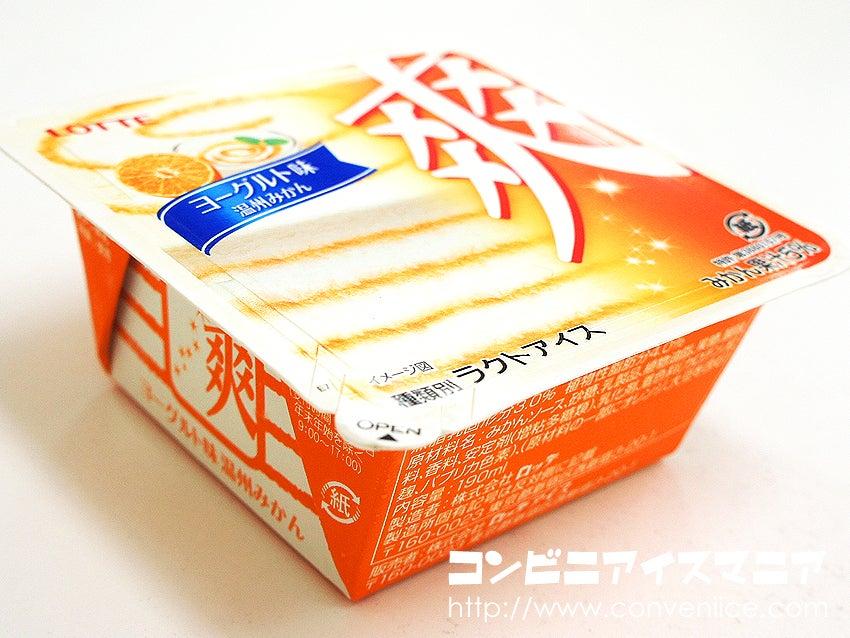 ロッテ 爽 ヨーグルト味(温州みかん)