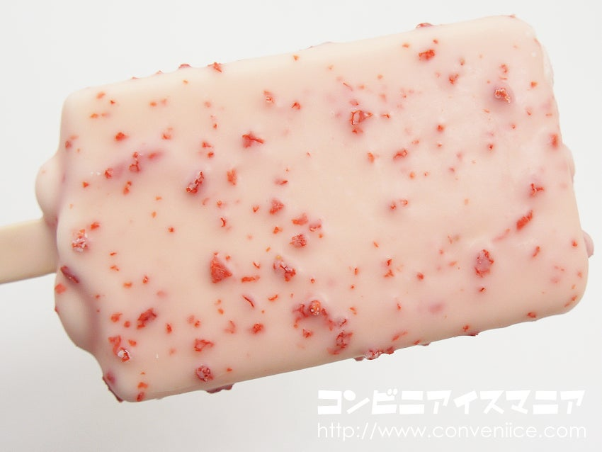 ロッテアイス つぶつぶ苺のカルピスアイスバー