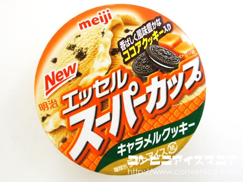 明治 スーパーカップ キャラメルクッキー