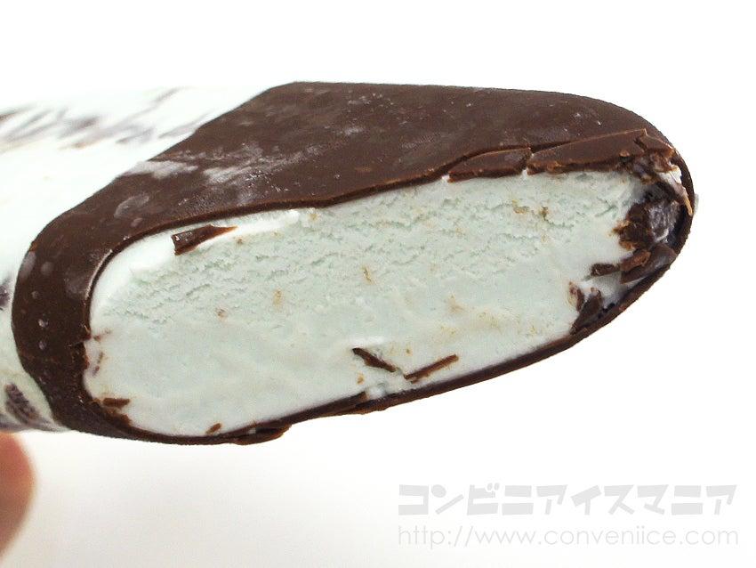 森永製菓 パリパリとした食感のチョコミントアイスバー