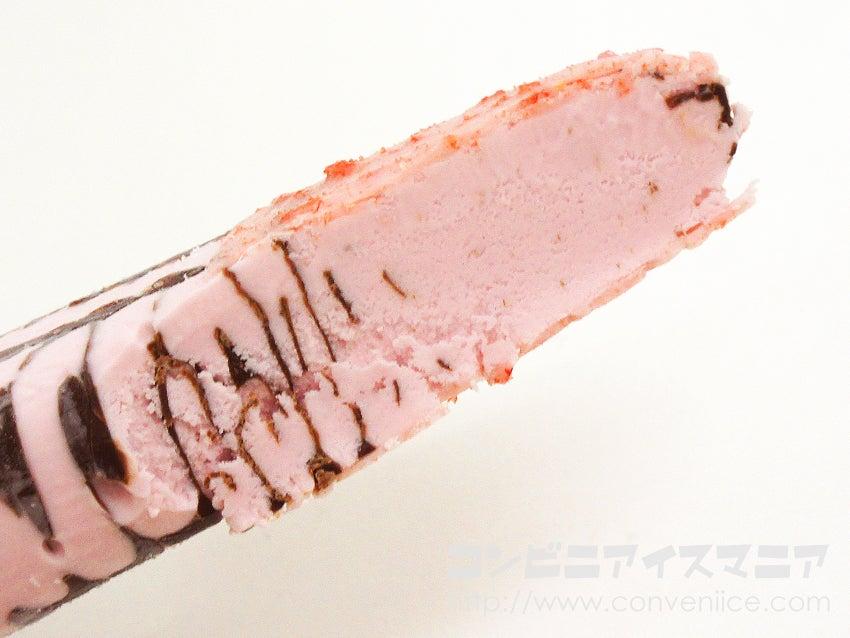 森永製菓 パリパリとした食感のいちごアイスバー