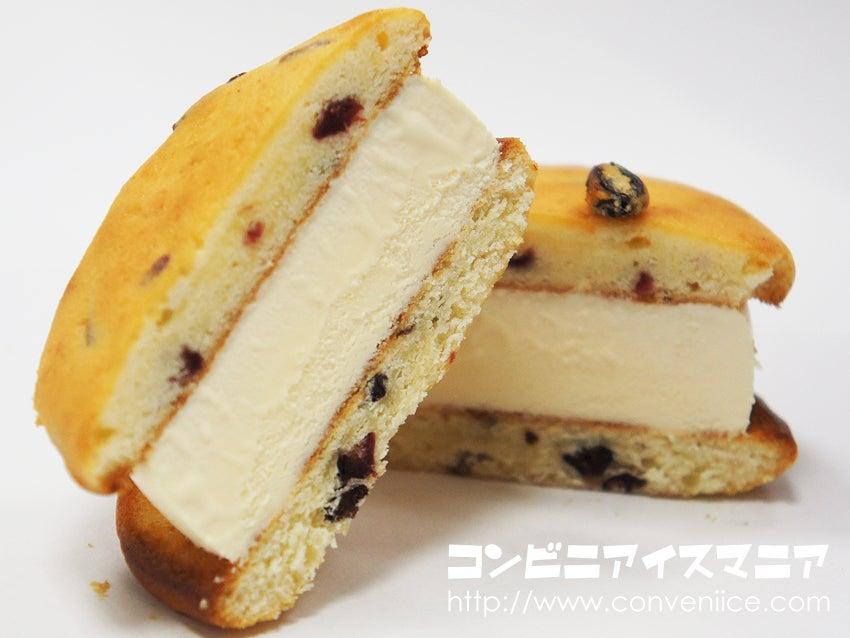 ロッテ SWEETS SQUARE しっとりやわらかなフルーツケーキのアイスサンド