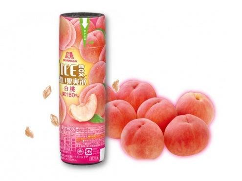 森永製菓 アイスボックス濃い果実氷<白桃>