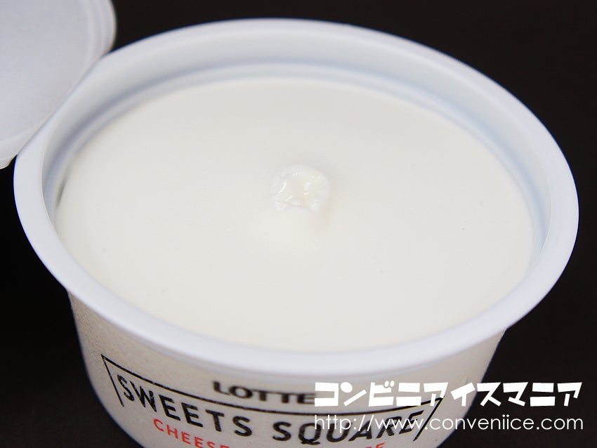 ロッテ SWEETS SQUARE 白くてふわっふわクリーミィにとけゆくフロマージュアイス