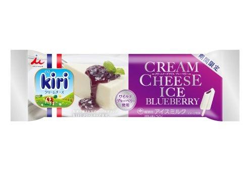 井村屋 クリームチーズアイス ブルーベリー