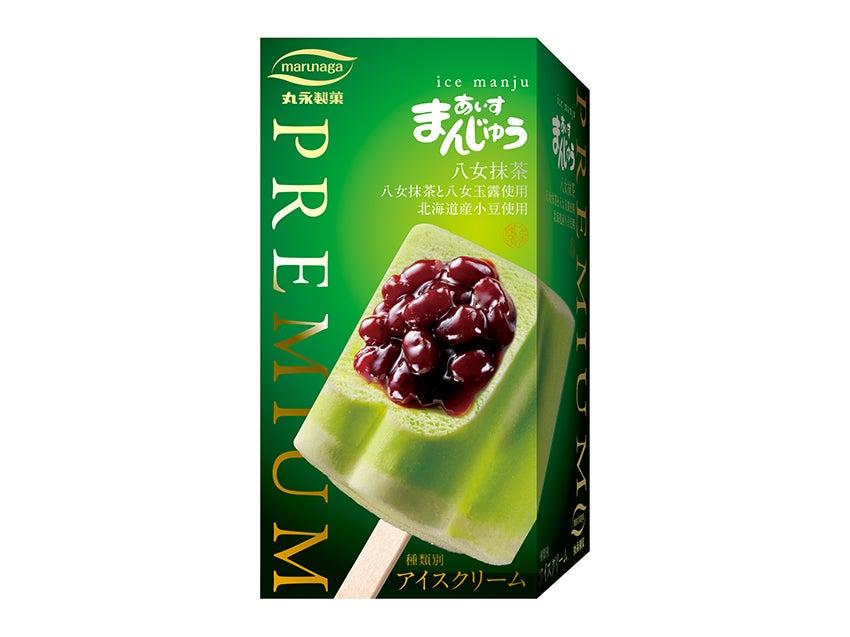 丸永製菓 PREMIUM あいすまんじゅう 八女抹茶