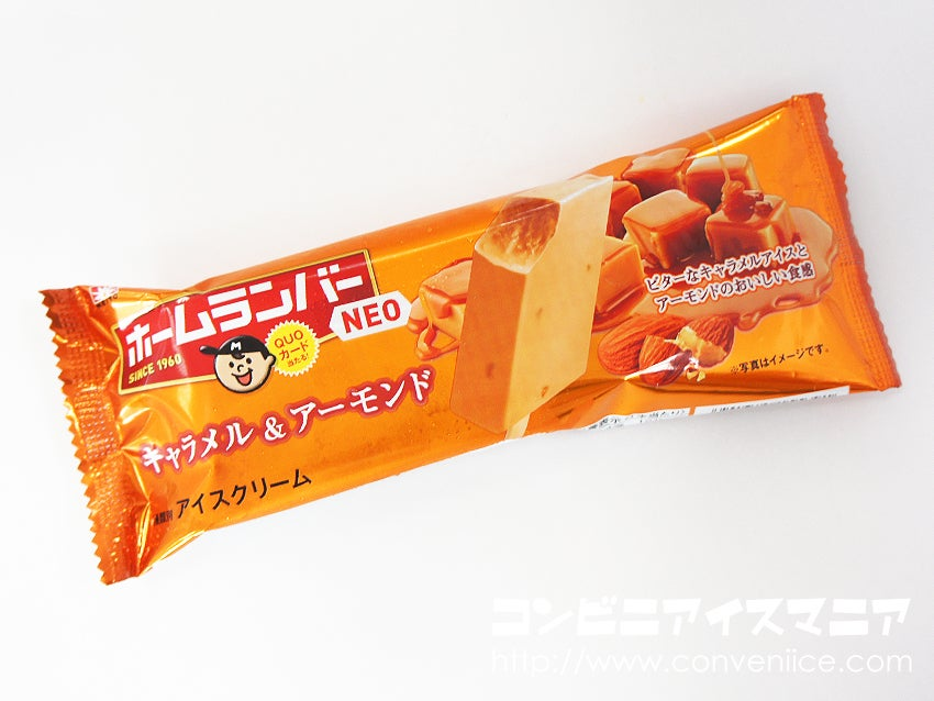 協同乳業 ホームランバーNEO キャラメル&アーモンド