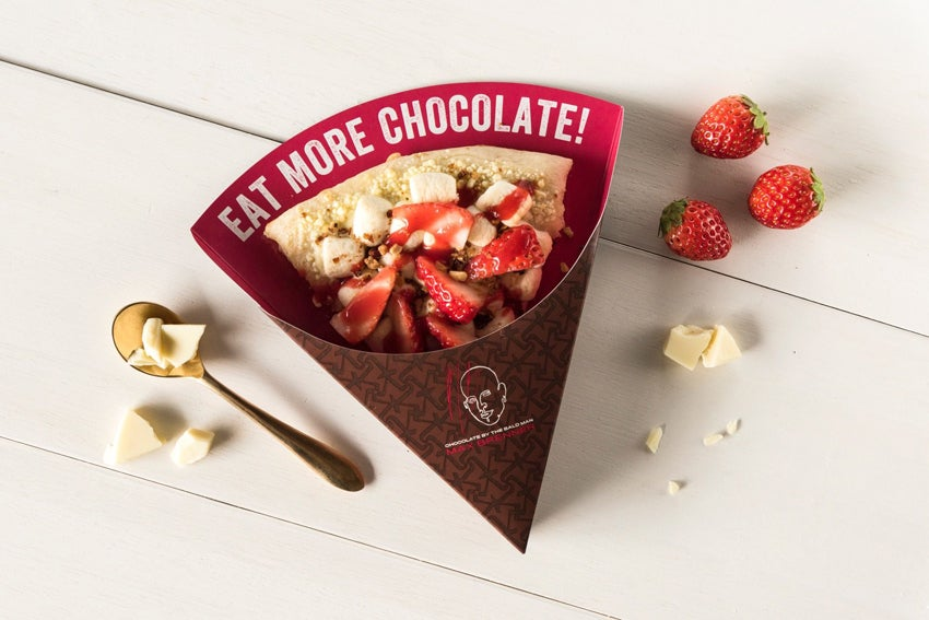マックス ブレナー ストロベリーホワイトチョコレートチャンクアイスクリーム