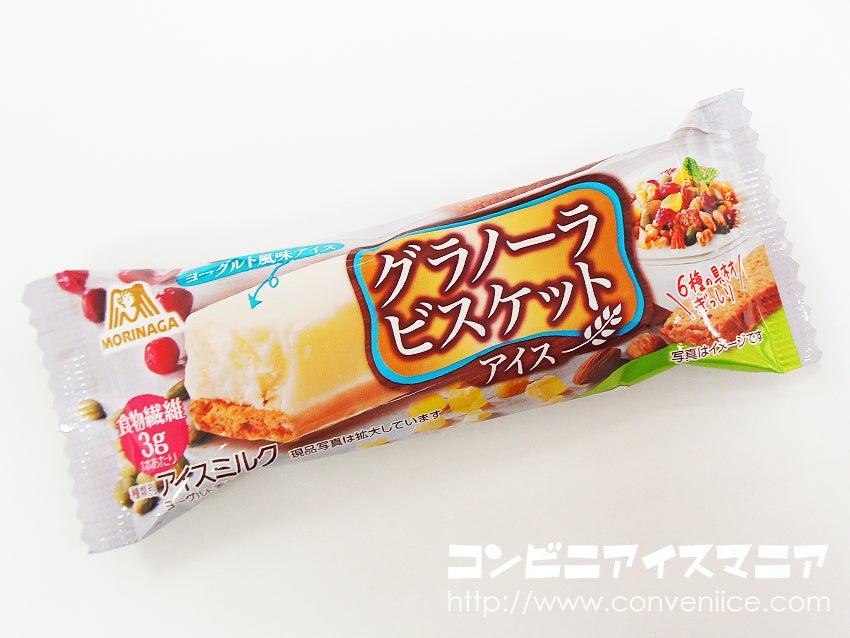 森永製菓 グラノーラビスケットアイス