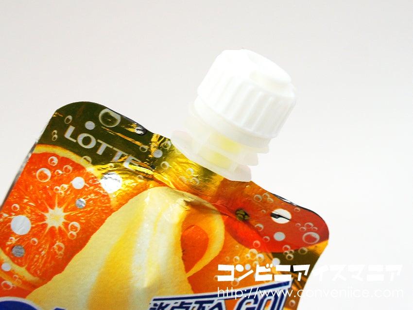 ロッテ クーリッシュ まる搾りオレンジソーダ