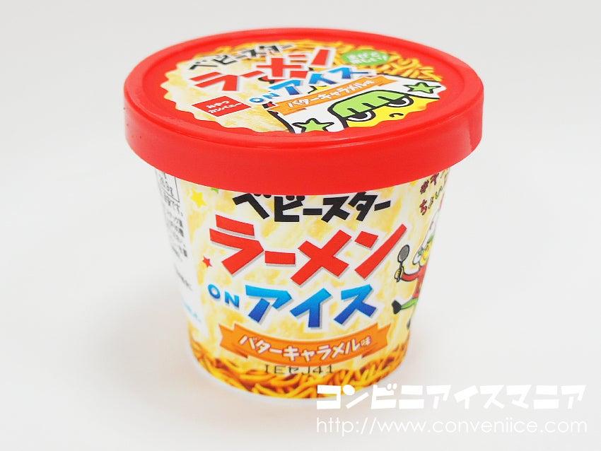 おやつカンパニー ベビースターラーメンonアイス バターキャラメル味