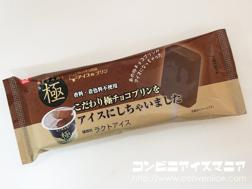 アンデイコ こだわり極チョコプリンをアイスにしちゃいました