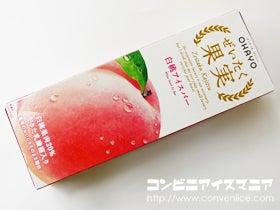 オハヨー乳業 ぜいたく果実 白桃アイスバー