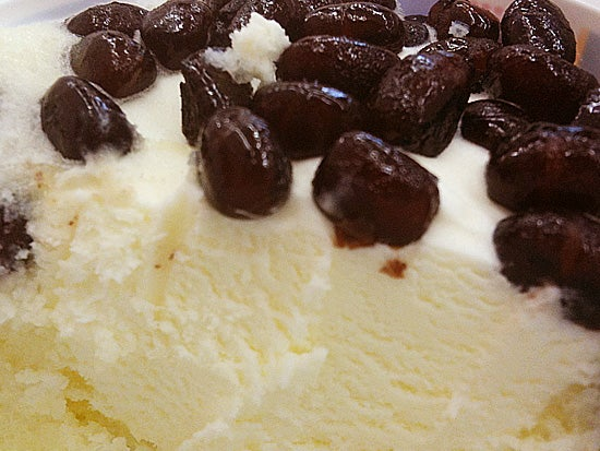 明治 北海道あずき 大納言あずき使用 氷ミルク味