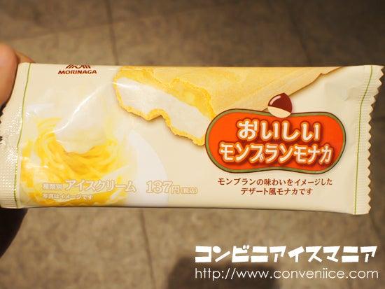 森永製菓 おいしいモンブランモナカ
