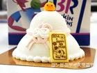 31アイスクリーム 鏡もちアイスクリームケーキ
