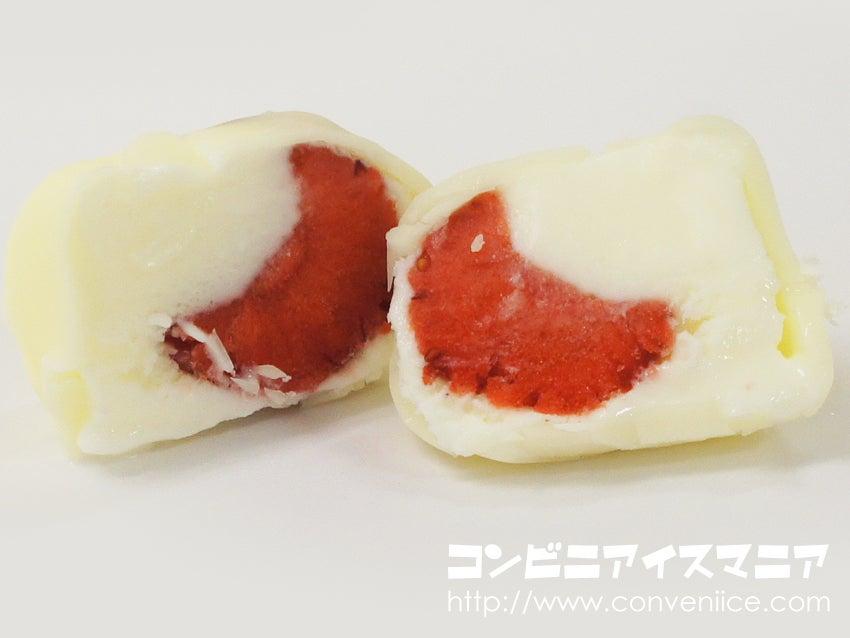 森永製菓 まるごと小粒苺のひとくちアイス