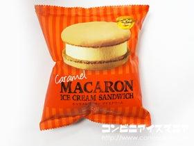 赤城乳業 キャラメル マカロンアイスクリーム