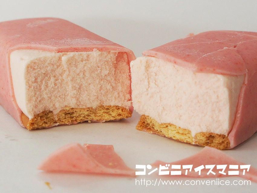 森永製菓 苺のチーズスティック
