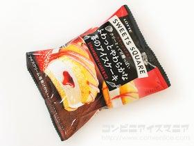 ロッテ SWEETS SQUARE ふわっとやわらかな苺のアイスケーキ