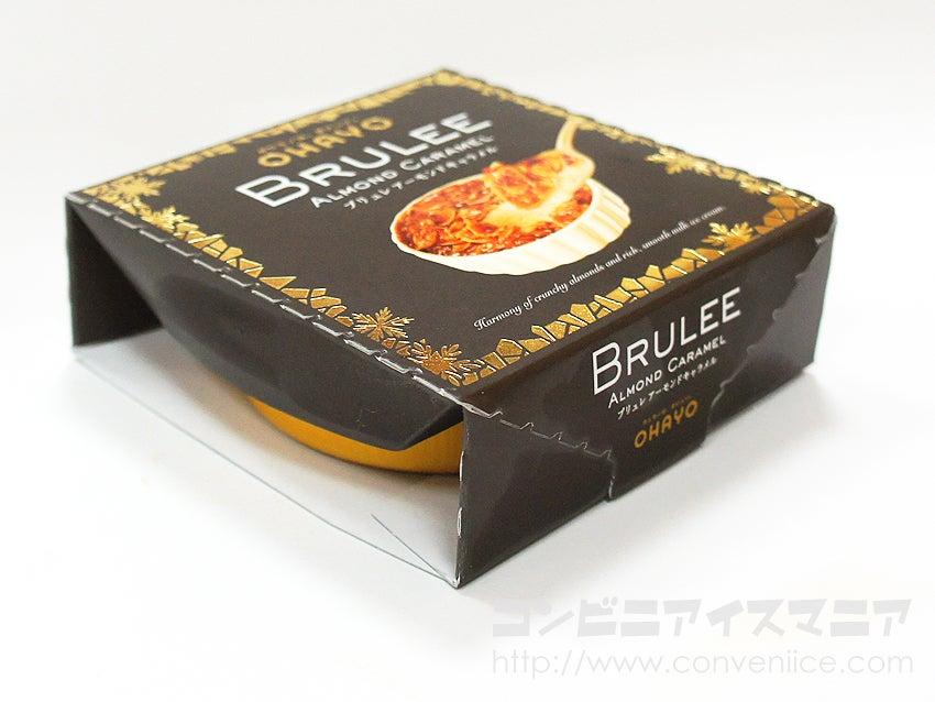 オハヨー乳業 BRULEE(ブリュレ) アーモンドキャラメル