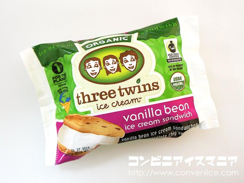 three twins ice cream(スリーツインズアイスクリーム)バニラビーンアイスクリームサンドウィッチ