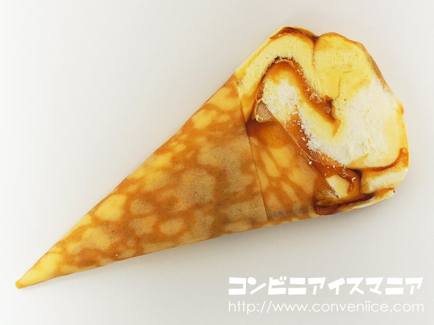 森永製菓 ザ・クレープ 生キャラメル&カスタードクレープ