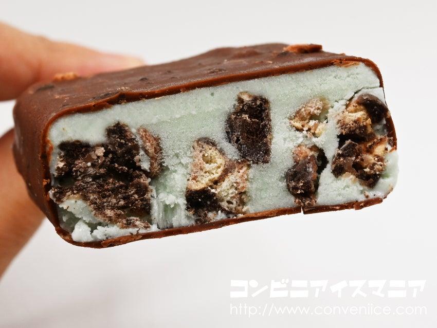 セリア・ロイル ブラックサンダーチョコミントアイス