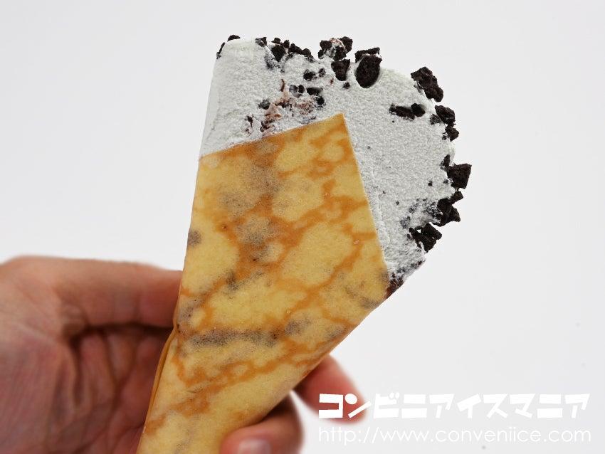 森永製菓 ザ・クレープ チョコミントクレープ