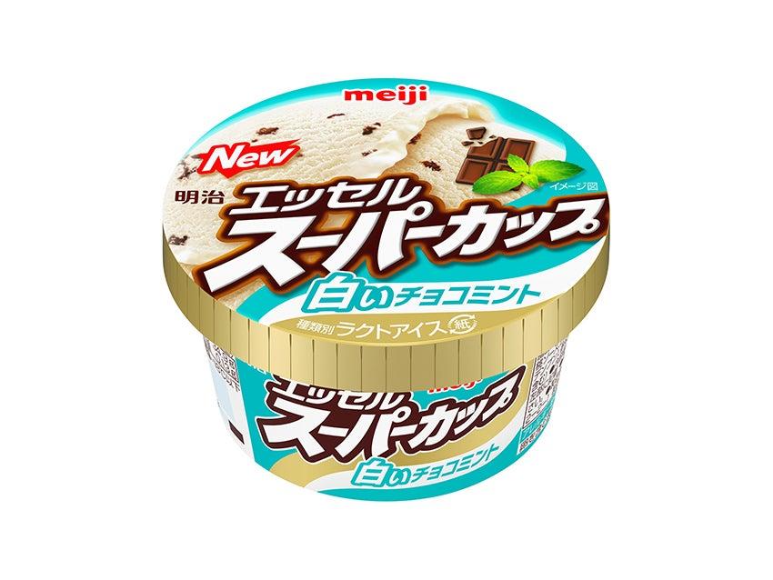 明治 エッセルスーパーカップ 白いチョコミント