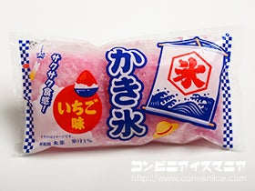 かき氷 いちご味(袋氷)