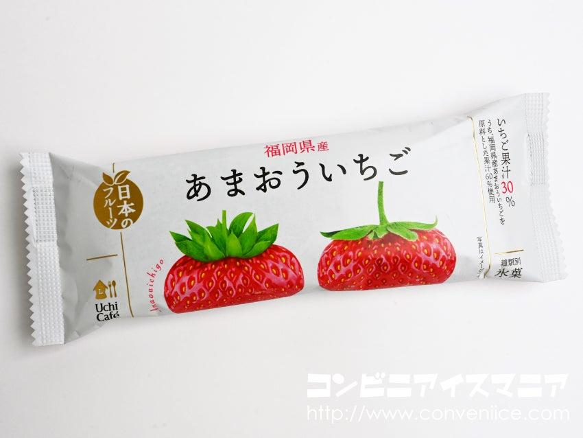 ウチカフェ 日本のフルーツ 福岡県産あまおういちご
