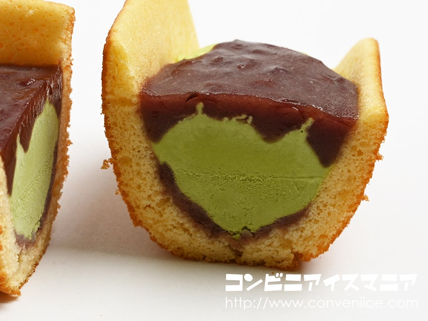 井村屋 KASANEL どらやきロールアイス 抹茶