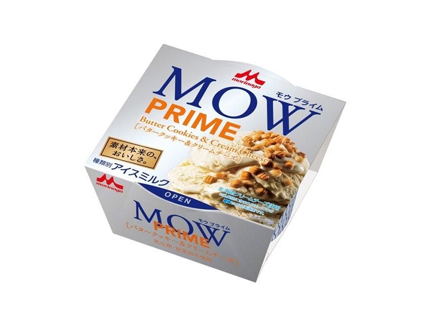 森永乳業 MOW PRIME(モウ プライム) バタークッキー&クリームチーズ